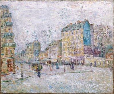 Boulevard de Clichy by Vincent van Gogh | HowStuffWorks