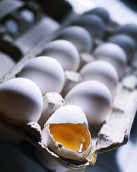 Eggs contain Vitamin D.