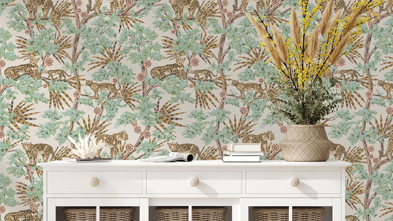 Removable Wallpaper: The Temporary