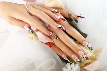 Wedding Nail Art and Designs - Wedding Nail Fashion for the Bride ...