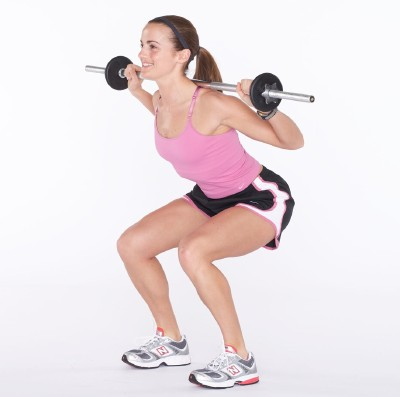 Weight lifting can help women build a toned body.