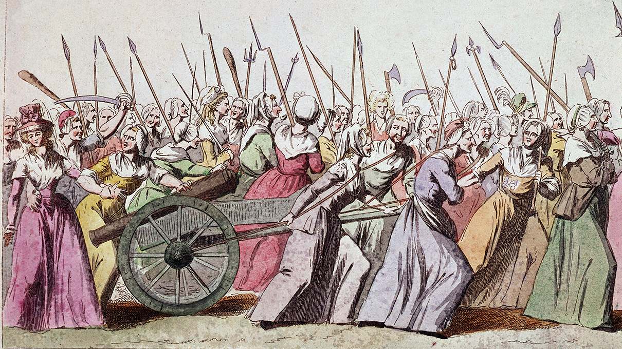 The Women-led March That Changed the Course of the French Revolution |  HowStuffWorks