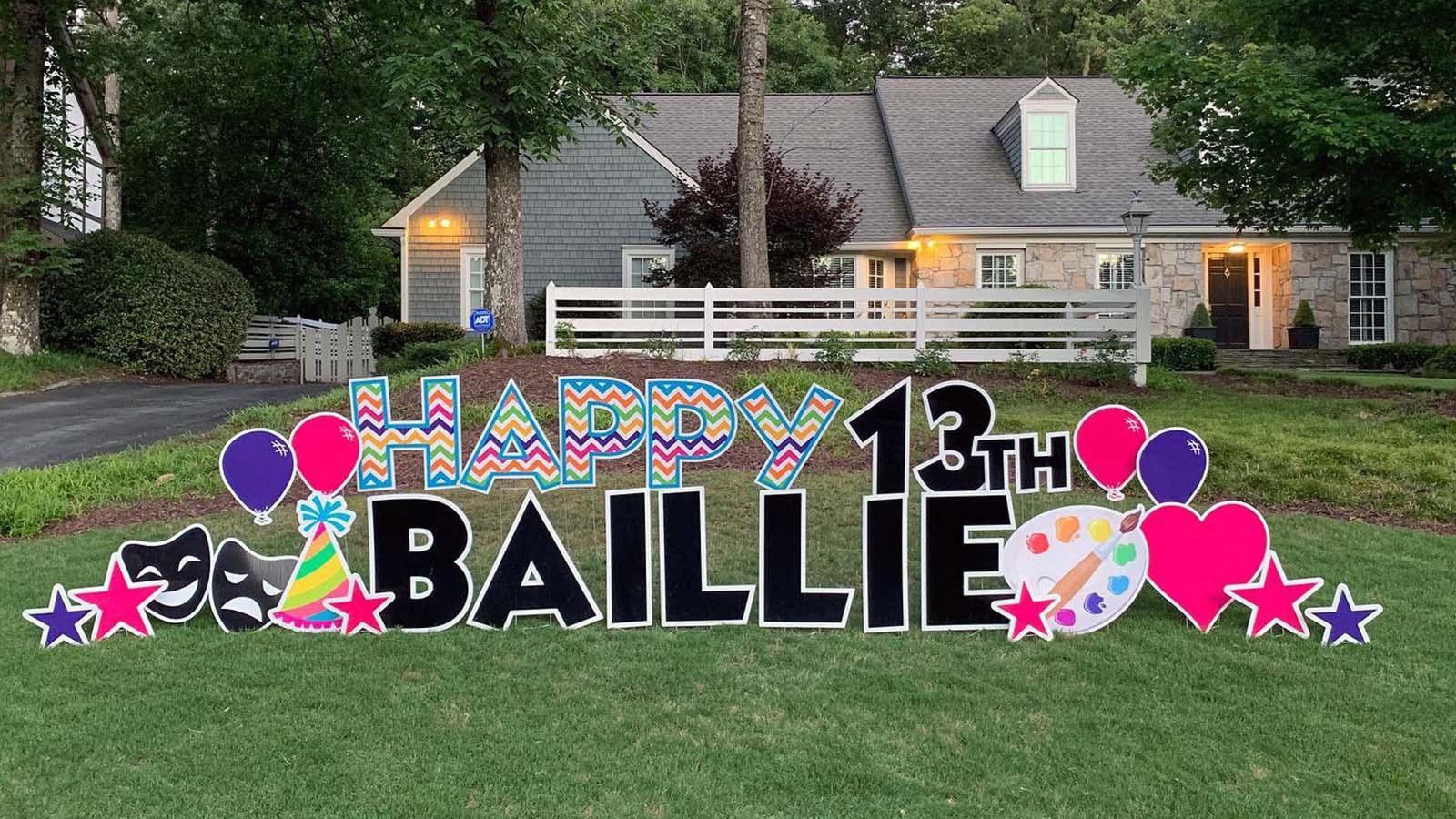 Celebratory Yard Signs Are Having a Major Moment